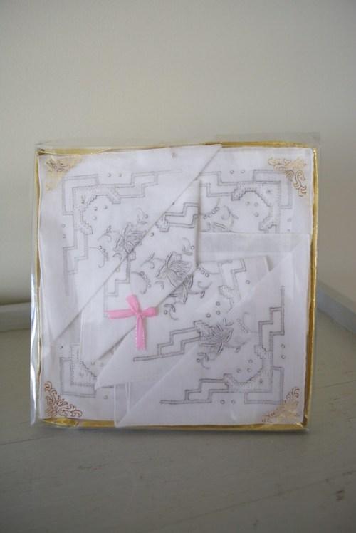 White Handkerchiefs, Vintage Handkerchiefs, Ladies Handkerchiefs, Vintage Handkerchiefs