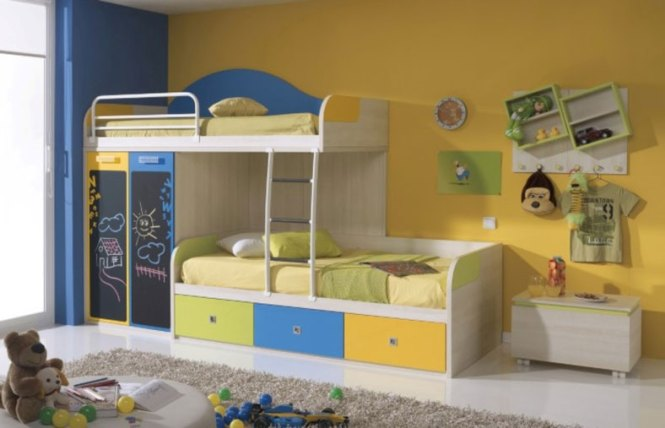 Bunk Beds For Toddlers In A Room