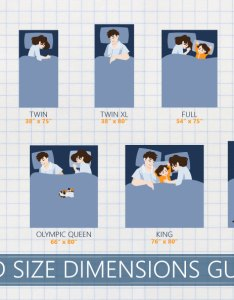 Complete bed size dimensions guide also mattress chart  definitive feb rh sleepadvisor