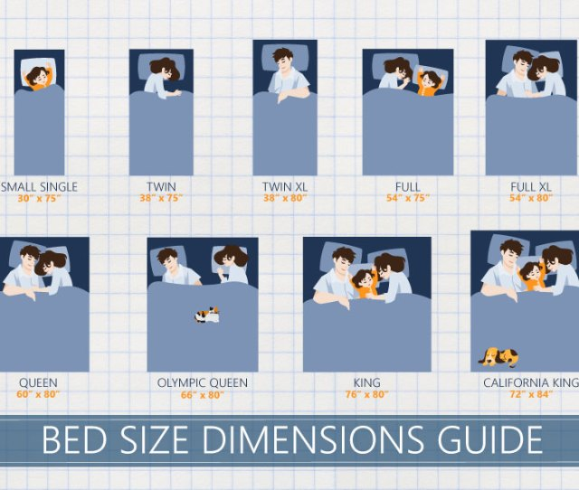 Complete Bed Size Dimensions Guide
