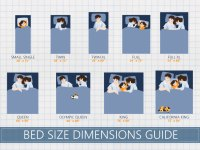 Mattress Size Chart and Bed Dimensions