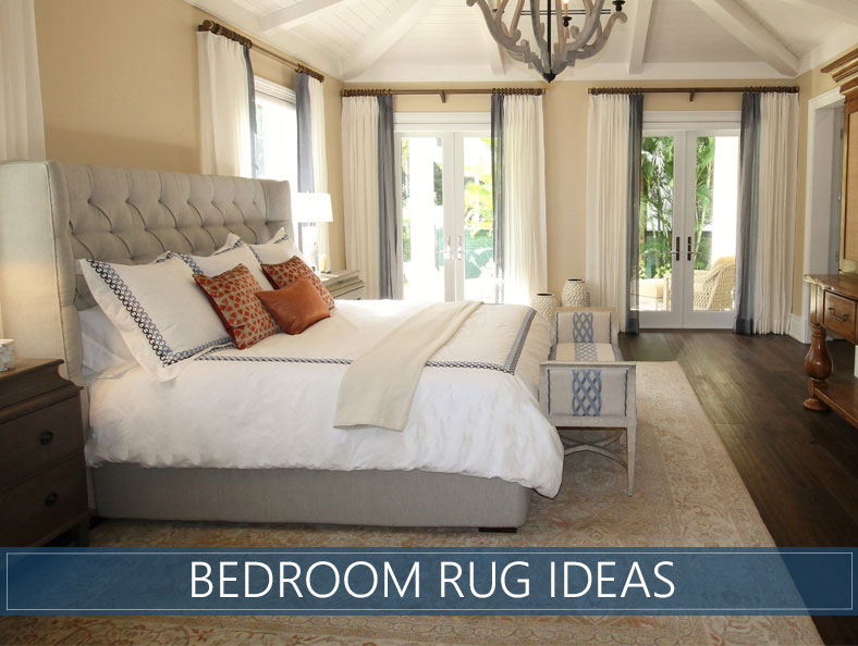 Bedroom Rug Ideas  Tips for Choosing the Best Model and