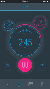 snore report snoring app 3