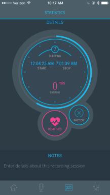 snore report snoring app 4