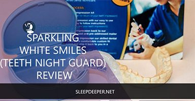sparking white smiles teeth night guard review
