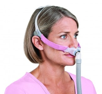airfit nasal with pillow resmed cpap without headgear optional mask airfitnasalpillow