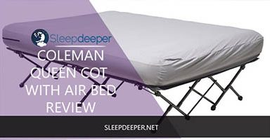 Coleman QueenCot with Airbed Review-1