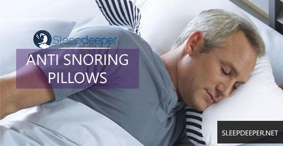 anti snore for sleepers side pillow best
