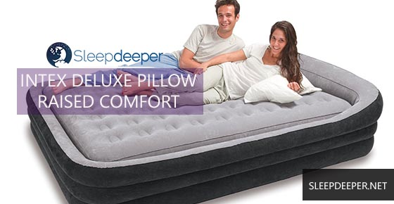 Intex Deluxe Pillowrest Raised Comfort Review
