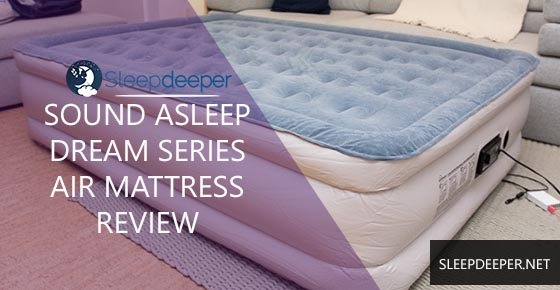 sound asleep air mattress review
