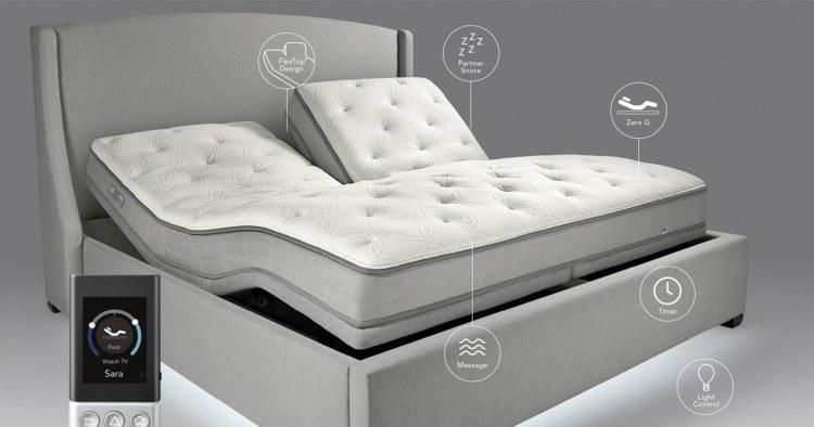 Adjustable FlexiFit Base Bed