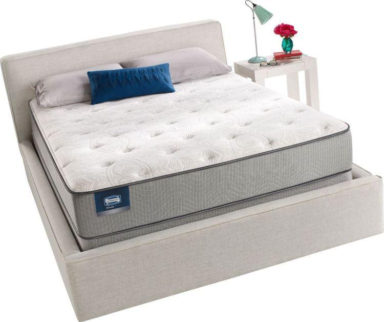 Simmons BeautySleep Plush Pillow Queen Innerspring Mattress
