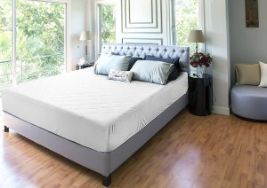 Utopia Bedding Quilted Fitted Mattress Pad