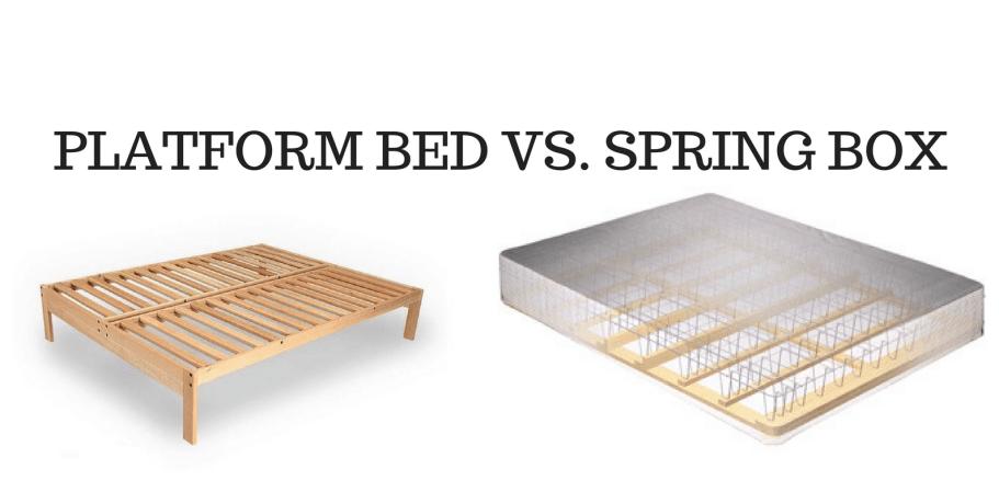 platform beds and spring box