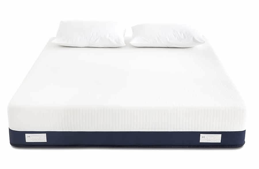 Helix changeable density layers mattress