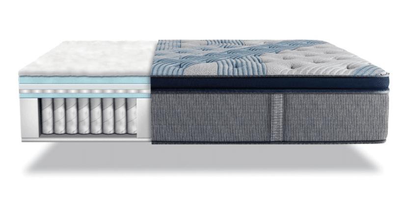 Serta Blue fusion Cushion mattress for Back pain