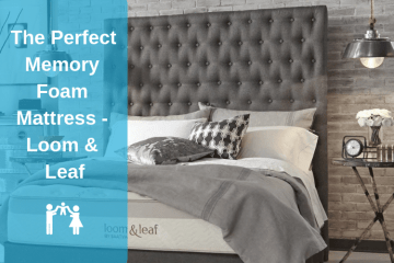 The Perfect Memory Foam Mattress - Loom & Leaf