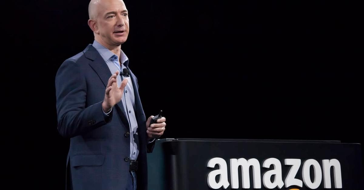 Jeff Bezos the creator and head of Amazon