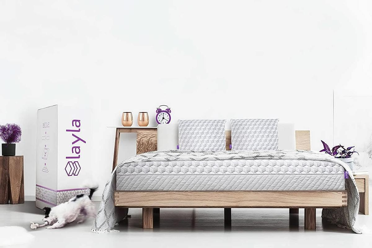 Layla sleep memory foam king mattress