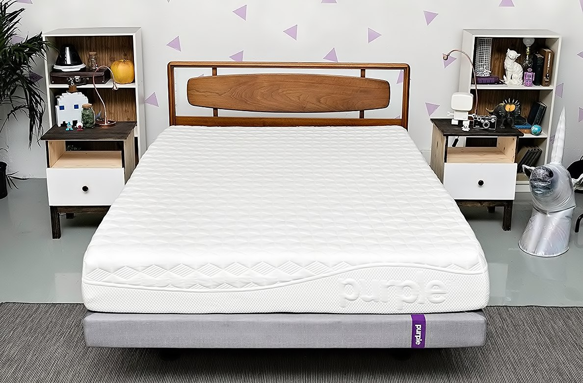 Purple Motion Isolating Pressure relieving Mattress