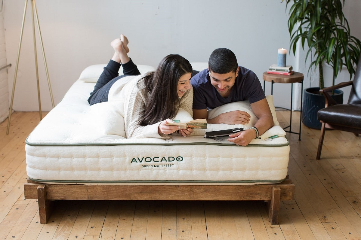 avocado eco friendly latex foam green mattress