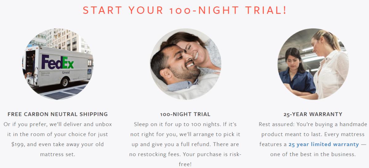 avocadogreenmattress - 100-NIGHT TRIAL!