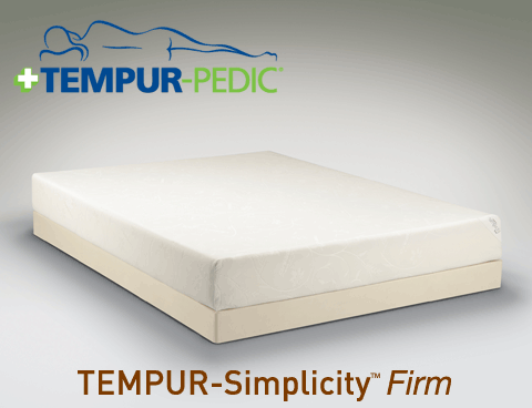 Tempur Simplicity Firm Mattress By Pedic