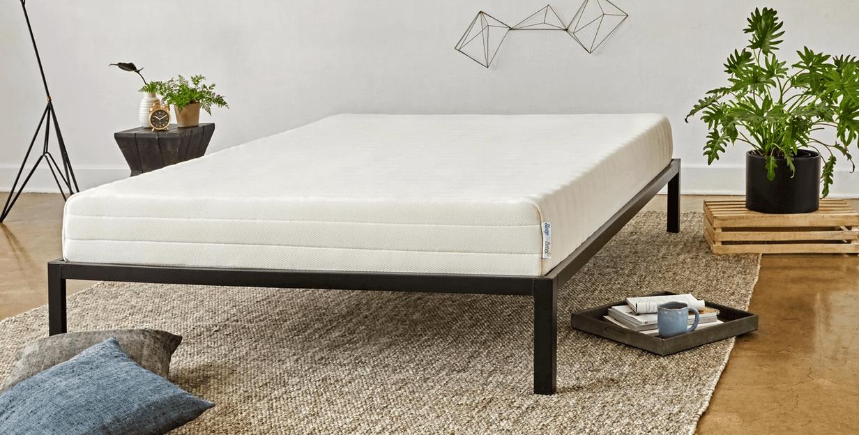 sleep on latex mattress review 2021