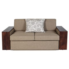 Sleeper Couch Sofa Cape Town Value City Moxi Double (with Wooden Armrest) – Sleeping ...