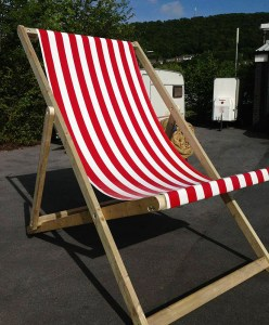 Giant Deckchair fully assembled