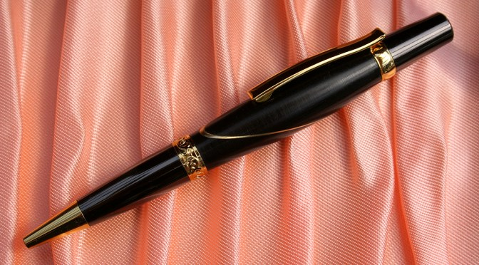Ebony & Brass Pen