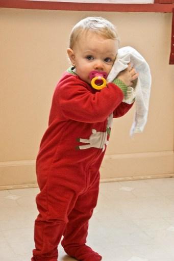 toddler blankie