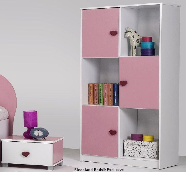 amelia pink full bedroom set