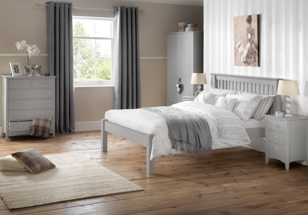 estiva grey wooden bedroom furniture