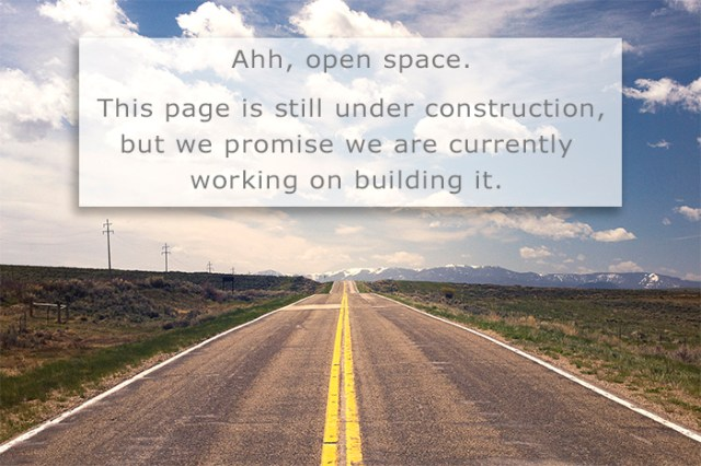 This page is currently under construction