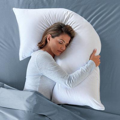 l shaped pillow