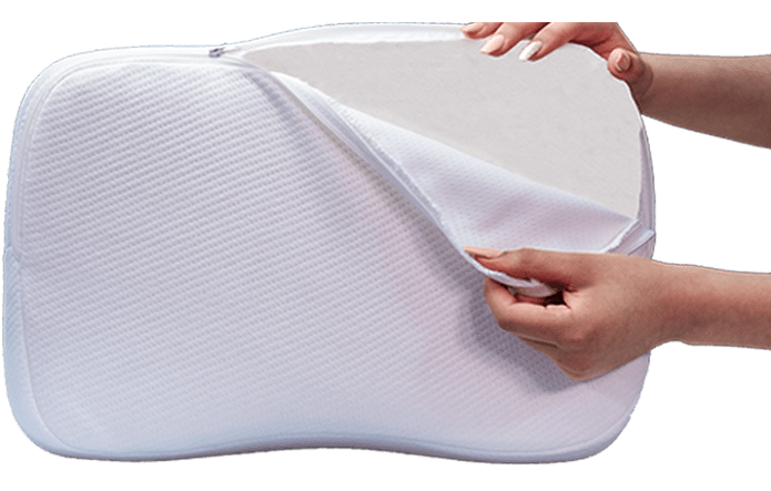 replacement pillow cover travel size