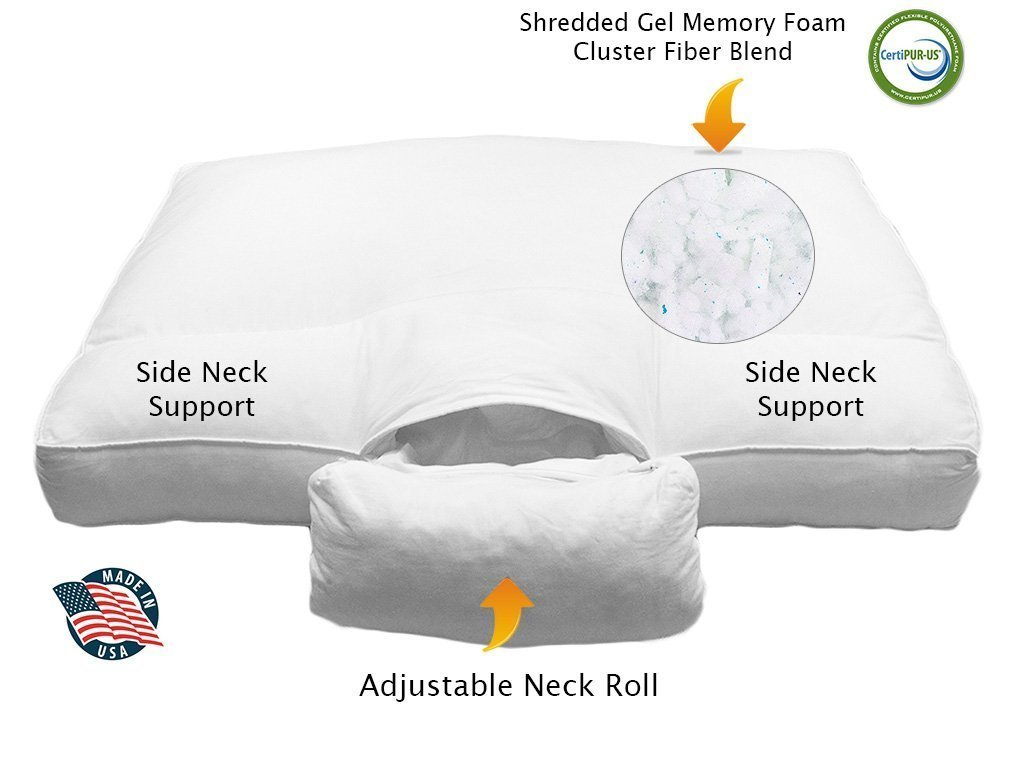 Best Cervical Pillows For Neck Pain Time To Wake Up Free