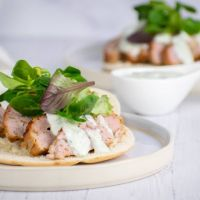 Hen Gyros with Tzatziki - Slender Kitchen