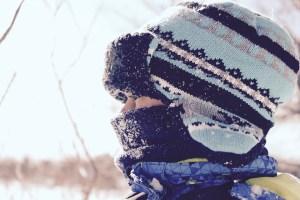 Zimní oblečení čepice