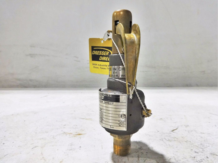 DRESSER CONSOLIDATED 12 SAFETY RELIEF VALVE 1543D21