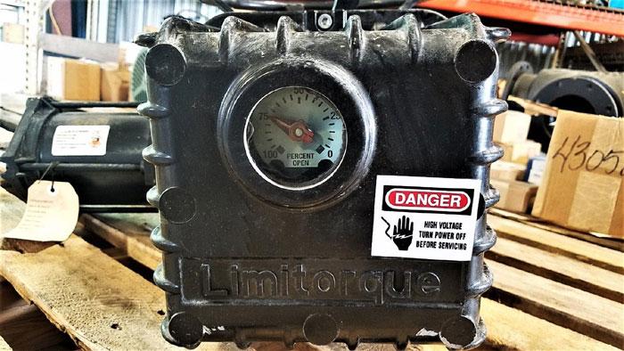 Limitorque L 120 10 Actuator W Limitorque Motor P N F