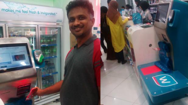 Kiosk at Watsons Malaysia