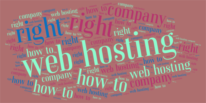 How to choose the right web hosting company