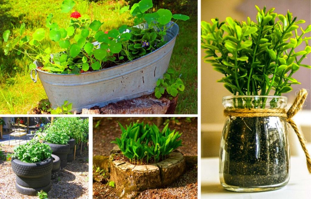 10 Best Diy Cheap Container Vegetable Gardening Ideas Anyone Can Use Slick Garden