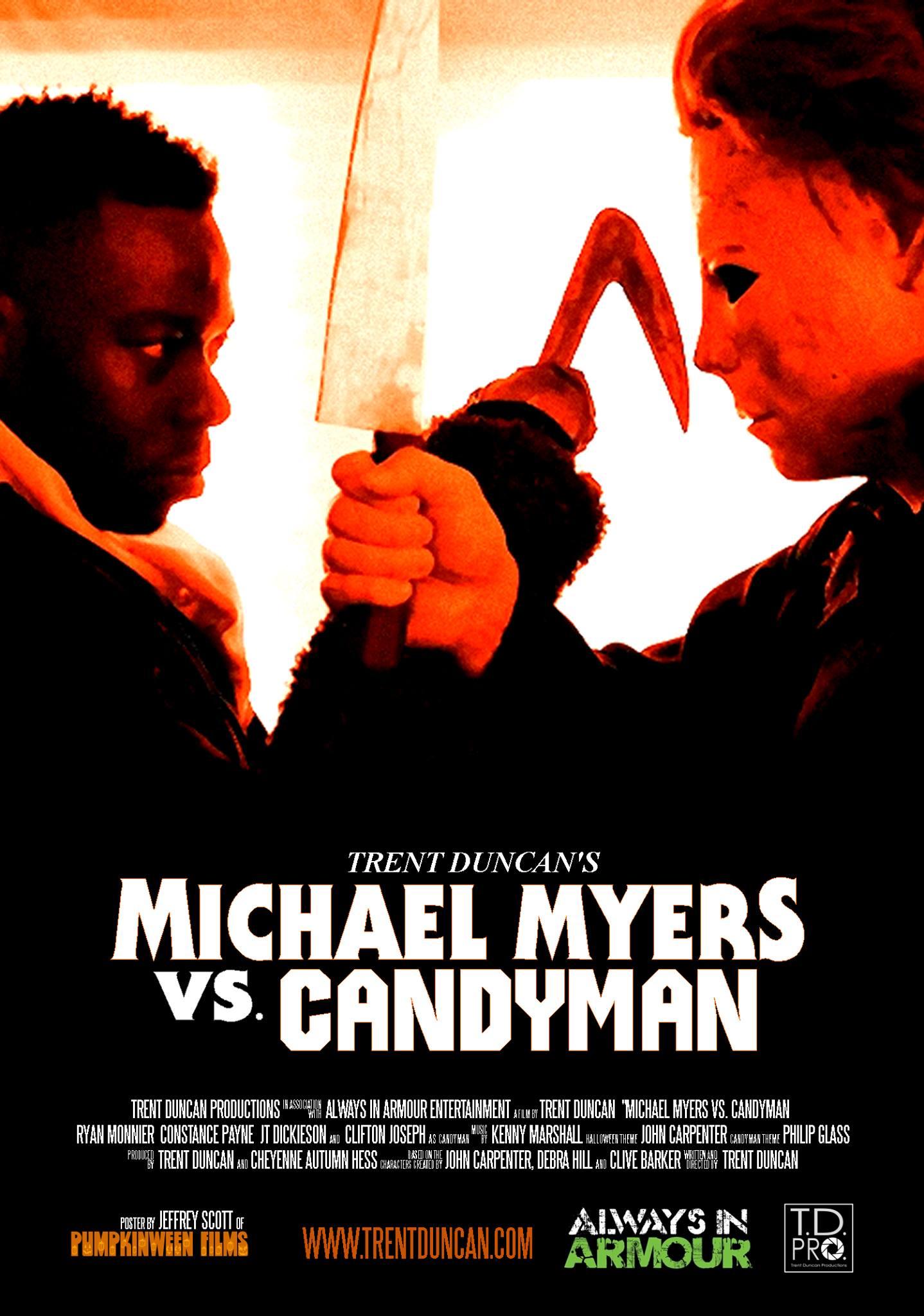 Trent Duncan On Michael Myers Vs Candyman Slickster