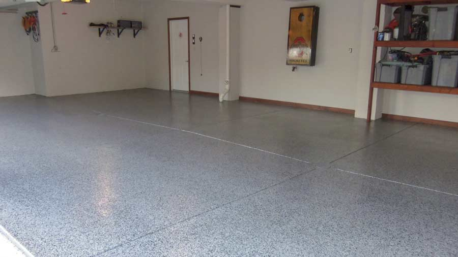 polyaspartic garage floor coating