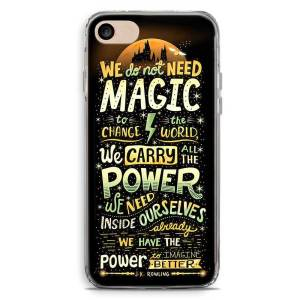 Cover smartphone we not need magic to change the world
