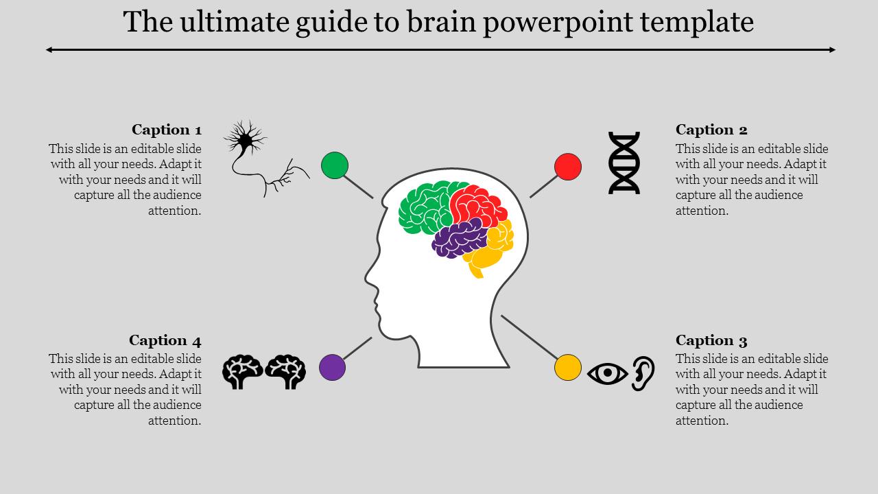 Brain Powerpoint Template- SlideEgg