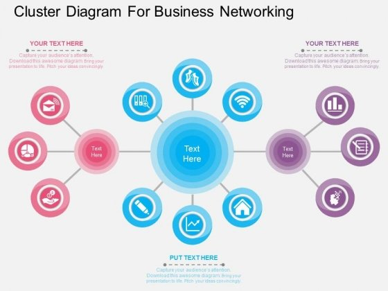 Network Diagrams PowerPoint Templates Backgrounds Presentation